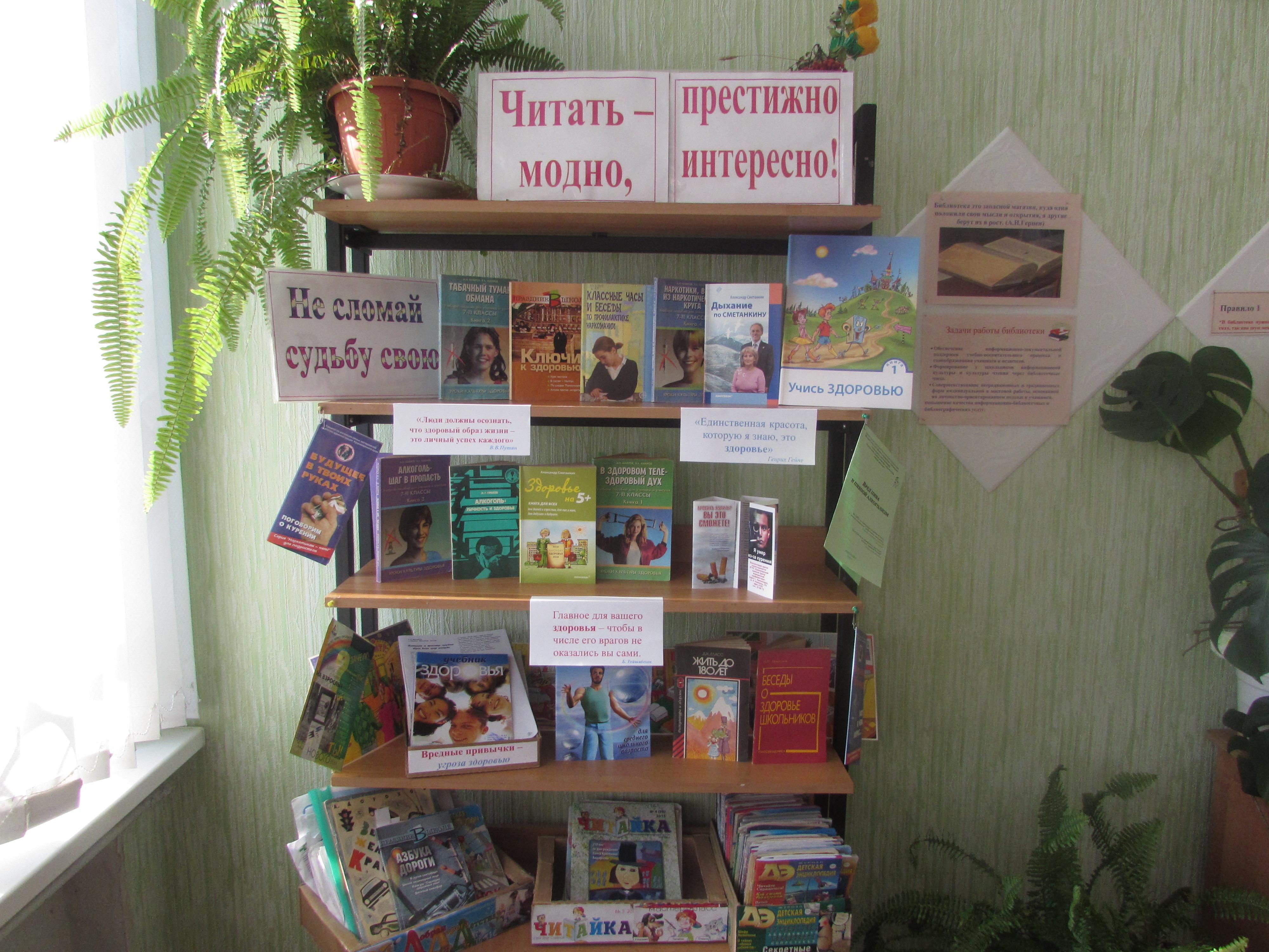 Благодарность за подаренные книги в школьную библиотеку